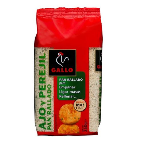 Breadcrumbs with Garlic and Parsley 250 g - Gallo