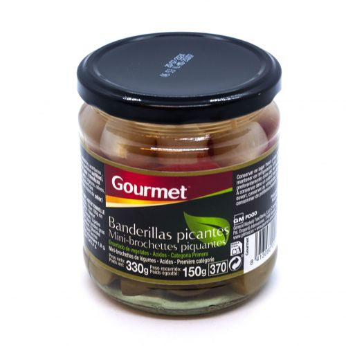 Olives, Gherkins and Onions on Sticks - Banderillas - Gourmet