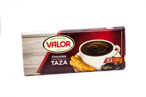 Spanish hot chocolate in tablets - Chocolate a la Taza Valor
